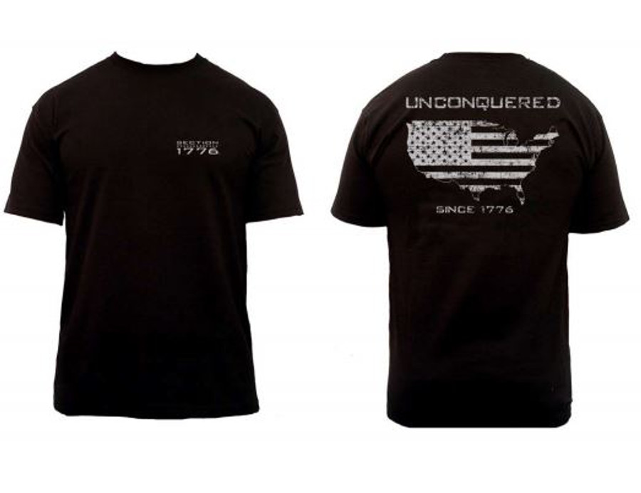 Toddler & youth Unconquered SS - Black