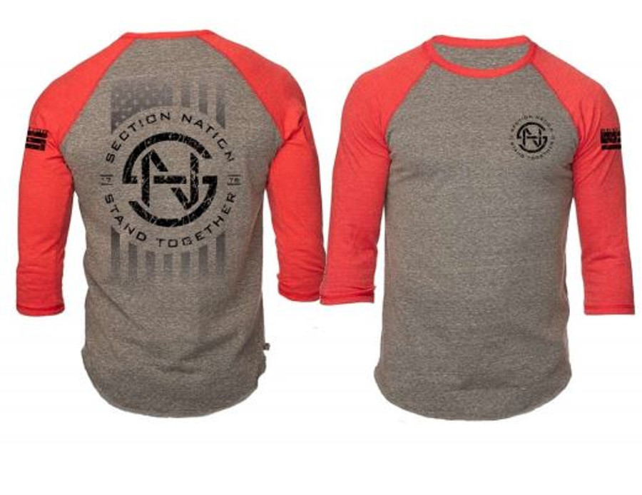 SN toddler & youth 3/4 Sleeve - Red