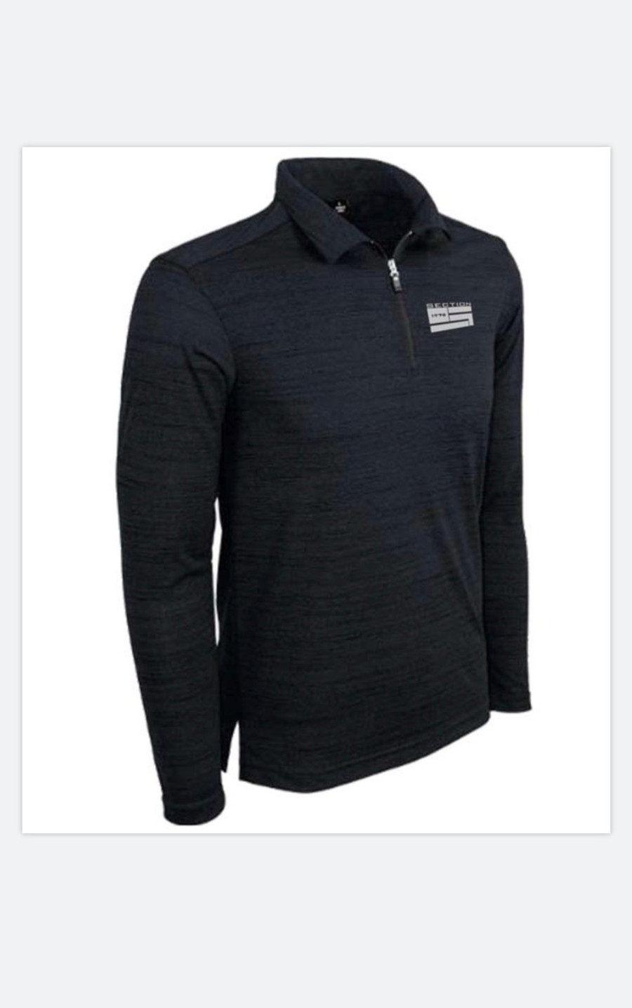 Tiger Stripe Performance Qtr. Zip Polo