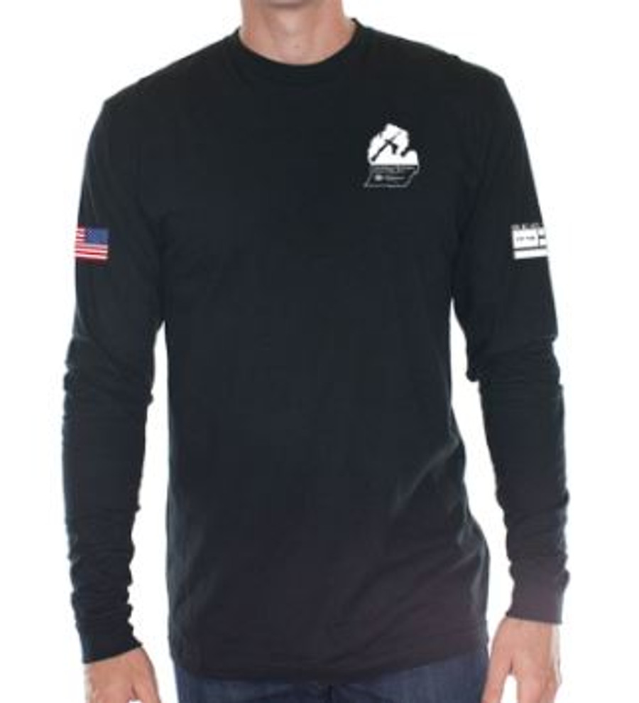 SMGC Club Longsleeve Shirt - Black