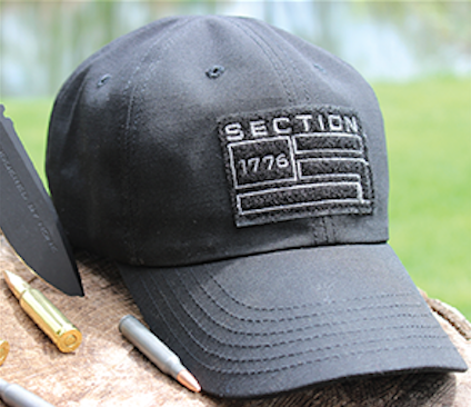 Section 1776 Black Tactical Hat 593c0e60fb8