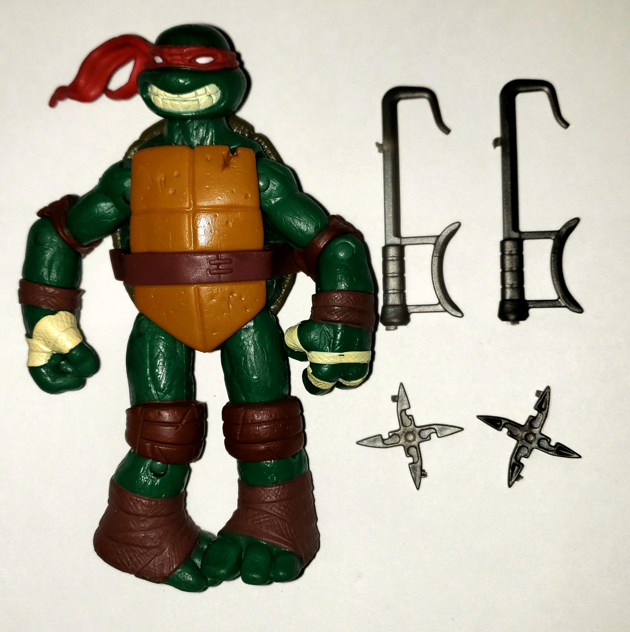 Teenage Mutant Ninja Turtles 2012 Raphael Loose Action Figure