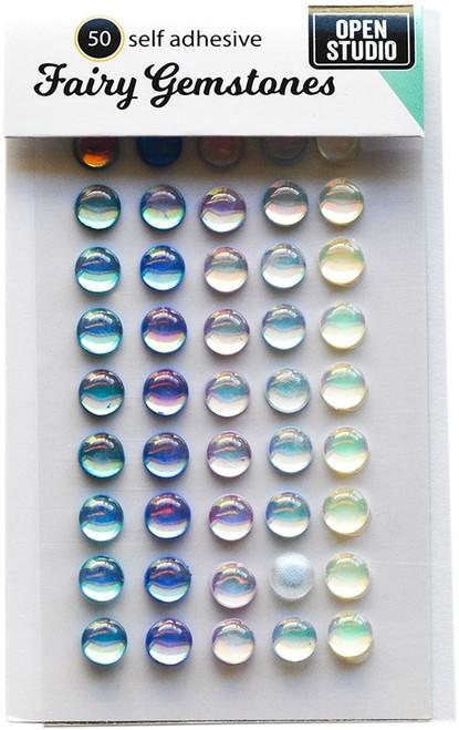 3 Pack Memory Box Self-Adhesive Fairy Gemstones 50/Pkg-Winter Fantasy -GEM102 - 873980257029