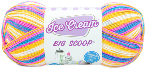 3 Pack Lion Brand Ice Cream Big Scoop Yarn-Moose Tracks -922-241 - 023032077543