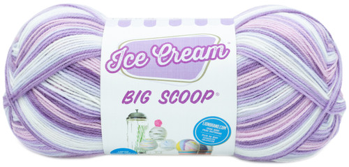 3 Pack Lion Brand Ice Cream Big Scoop Yarn-Black Cherry -922-244 - 023032077574