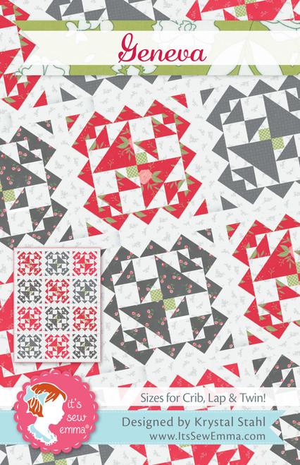 2 Pack It's Sew Emma Quilt Pattern-Geneva -ISE252 - 672975768553
