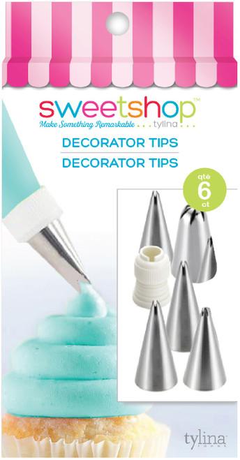 Sweetshop Decorating Tips 6/Pkg-5002085 - 816350020854