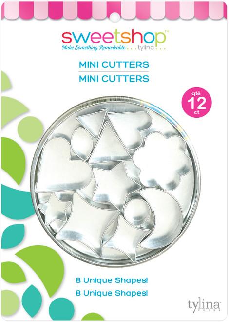 Sweetshop Mini Fondant Cutter Set 12/Pkg-5002082 - 816350020823