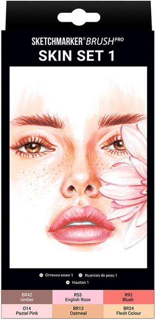 Sketchmarker Brush Pro 6/Pkg-Skin Set 1 -SMBSKIN1 - 5013720468871