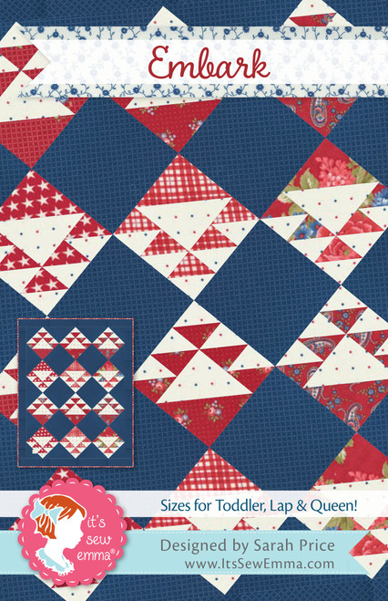 2 Pack It's Sew Emma Quilt Pattern-Embark -ISE248 - 672975768386