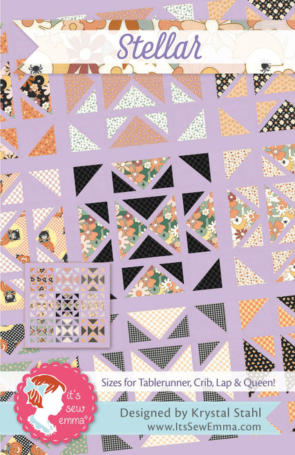 It's Sew Emma Quilt Pattern-Stellar -ISE244 - 672975769208