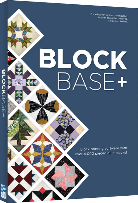 Electric Quilt Blockbase+ Software-For Mac And Windows -A-BBASE