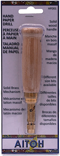 Hand Paper Drill-HPBD01 - 762867200213