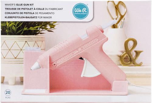 We R Memory Keepers Maker's Glue Gun Kit-Pink -WR614722 - 633356614722