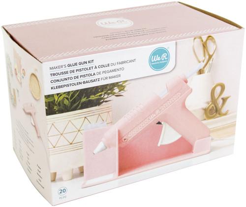 We R Memory Keepers Maker's Glue Gun Kit-Pink -WR614722
