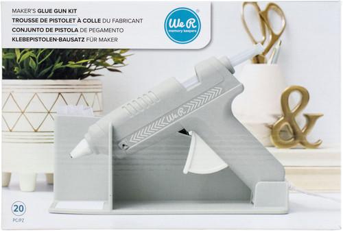 We R Memory Keepers Maker's Glue Gun Kit-Grey -WR614739 - 633356614739