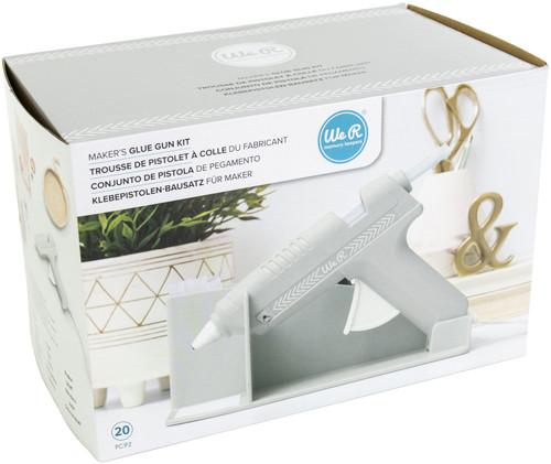 We R Memory Keepers Maker's Glue Gun Kit-Grey -WR614739
