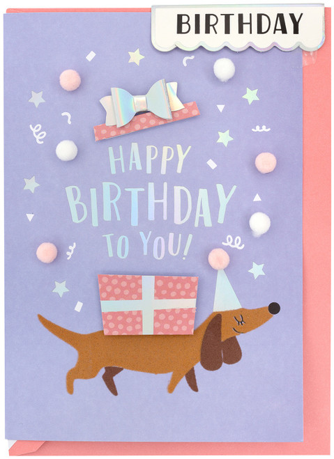 3 Pack Crate Paper Greeting Card-Birthday Dog -372238 - 718813722384