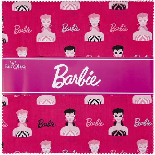 """Riley Blake 10"""" Stacker Precut Bundle 42pcs-Barbie -973010 - 889333166207"""