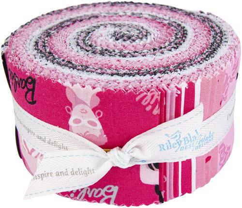 "Riley Blake 2.5"" Rolie Polie Precut Bundle 40pcs-Barbie -9730RP - 889333166221"