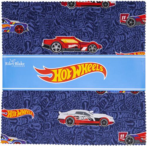 """Riley Blake 10"""" Stacker Precut Bundle 42pcs-Hot Wheels -975010 - 889333166641"""