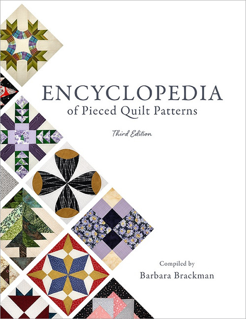 Electric Quilt Encyclopedia Of Pieced Quilt Patterns-Softcover, Full Color -B-ENCYC - 6579203359749781893824973