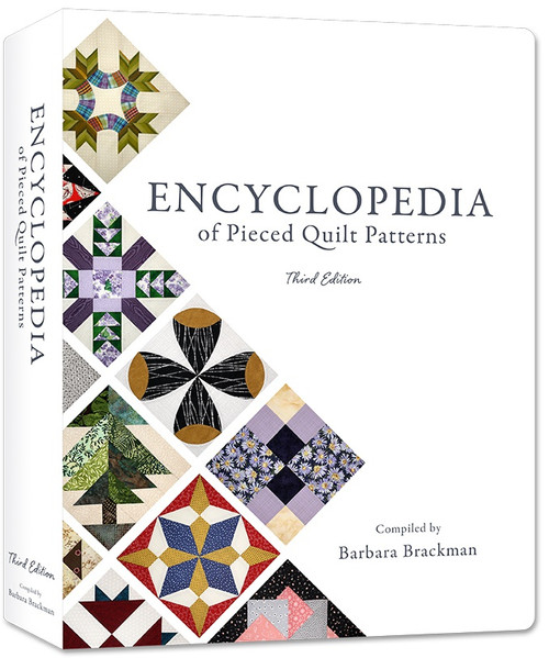 Electric Quilt Encyclopedia Of Pieced Quilt Patterns-Softcover, Full Color -B-ENCYC