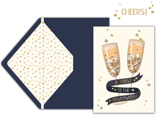 Jolees Boutique Greeting Card-Toast -E8600-470 - 015586004700