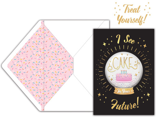 Jolees Boutique Greeting Card-I See Cake -E8600-462 - 015586004625