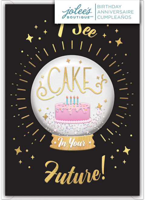 Jolees Boutique Greeting Card-I See Cake -E8600-462