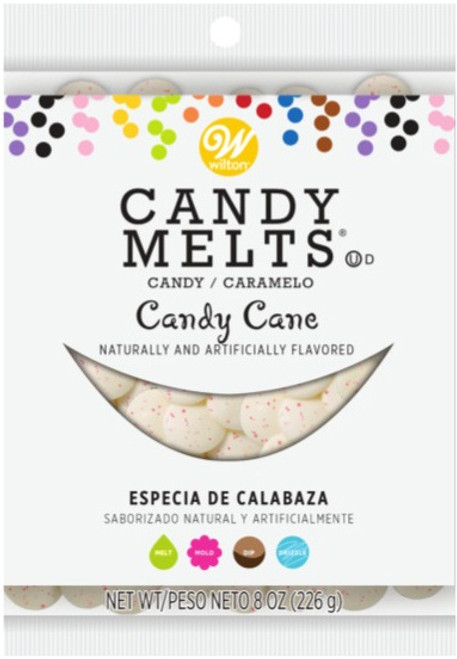 Candy Melts Flavored 8oz-Candy Cane -W9117095 - 070896070951
