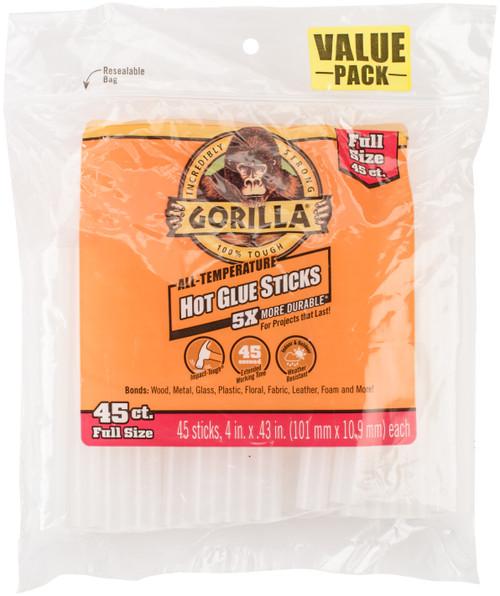 "2 Pack High-Temp Glue Sticks-.43""X4"" 45/Pkg -3034502 - 052427303455"