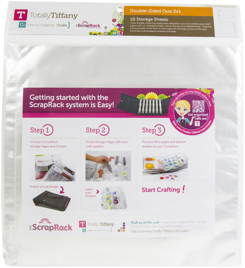 """ScrapRack Double-Sided Duo-2""""X1"""" -PD7-8 - 855556000789"""