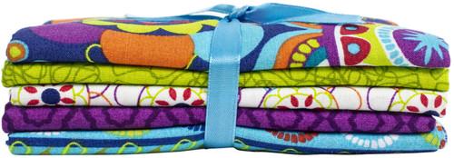 "Fabric Palette Fat Quarter Assortment 18""X21"" 5/Pkg-Blenders -MDGBND62 - 699919026661"