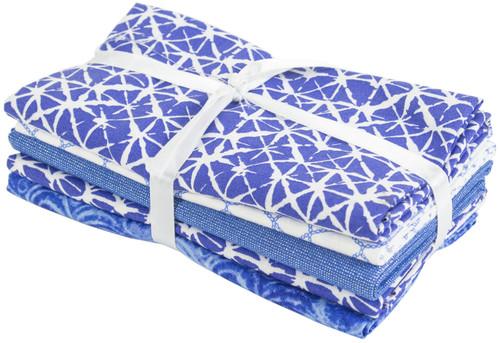 "Fabric Palette Fat Quarter Assortment 18""X21"" 5/Pkg-Elements -MDGBNDEL - 699919195657"