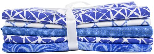 "Fabric Palette Fat Quarter Assortment 18""X21"" 5/Pkg-Elements -MDGBNDEL"