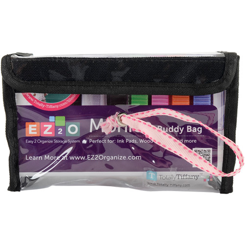 2 Pack Totally-Tiffany Easy To Organize Buddy Bag-Monica Stamp Pad Container -SNG04 - 855556000000