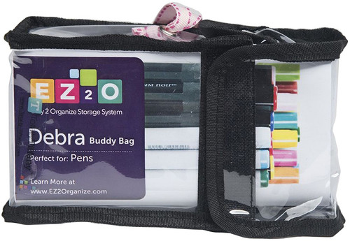 2 Pack Totally-Tiffany Easy To Organize Buddy Bag-Debra Pen Container -SNG09 - 855556000154