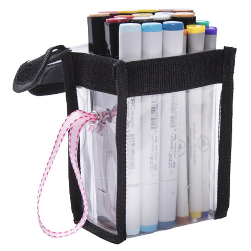 2 Pack Totally-Tiffany Easy To Organize Buddy Bag-Debra Pen Container -SNG09
