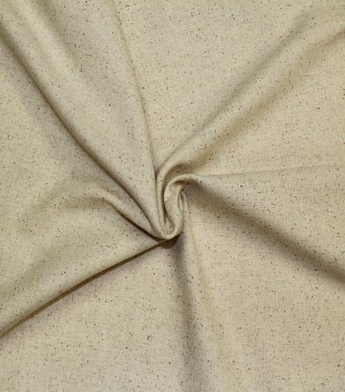 "Hanes Fabrics Cotton Osnaburg 44/45""X25yd D/R-Unbleached/Natural -70029 - 720305702293"
