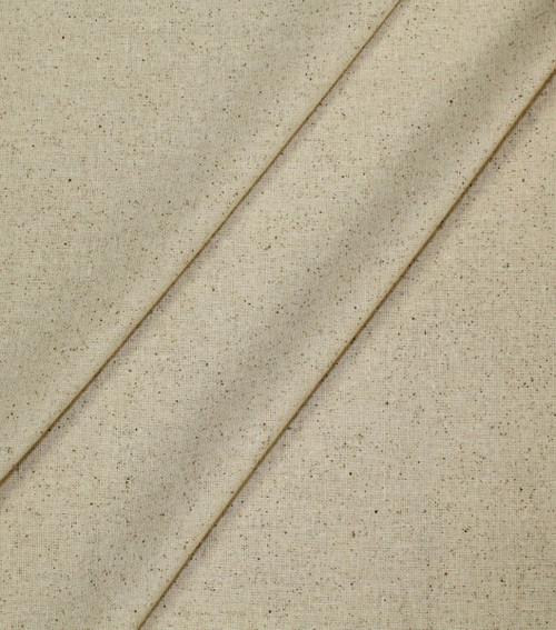 "Hanes Fabrics Cotton Osnaburg 44/45""X25yd D/R-Unbleached/Natural -70029"