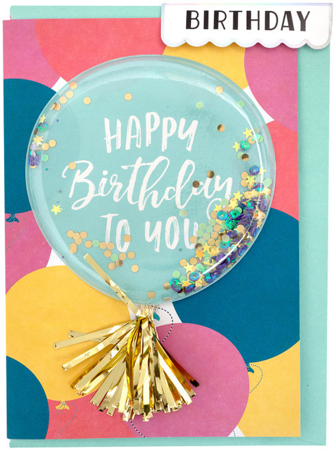 Crate Paper Greeting Card-Birthday Balloon -372235 - 718813722353