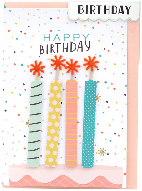 Crate Paper Greeting Card-Birthday Candle -355418 - 718813554183