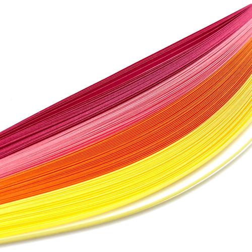 Bazzill Quilling Strip Paper Pack 100/Pkg-Pastel -BZQUILST-00120