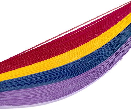 Bazzill Quilling Strip Paper Pack 100/Pkg-Jewel -BZQUILST-00123