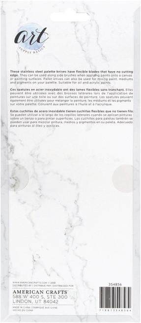 Art Supply Basics Stainless Palette Knife Set -5/Pkg -354856