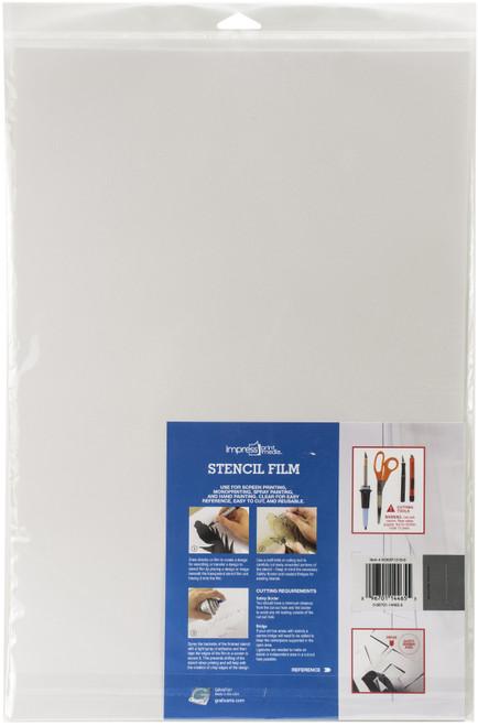 "3 Pack Impress Stencil Films 6/Pkg-12""X18"" -5SF1218"