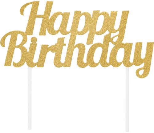 6 Pack Happy Birthday Cake Topper-324540