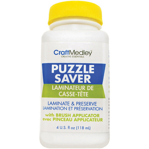 6 Pack Craft Medley Puzzle Saver Glue-4oz -GL600 - 775749100457