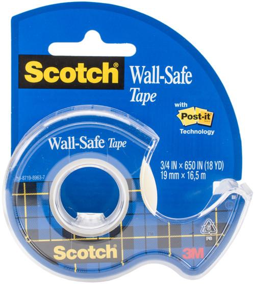 "3 Pack Scotch Wall-Safe Tape .75""X650""-SC183 - 076308907884"